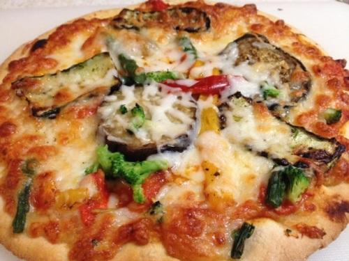 Pizza-veggie