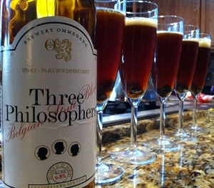 Three Philosophers ready to serve