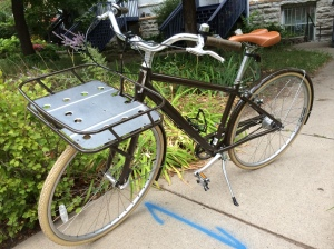 photo of loaner bike