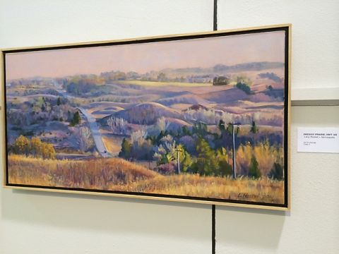 photo of Larry's painting