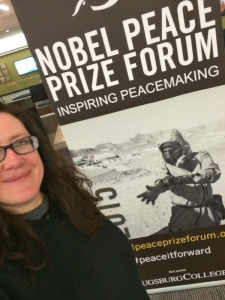 Nobel Peace Prize Forum poster